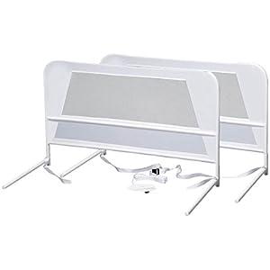 KidCo 2-Pack Chidren's Mesh Bed Rail, White