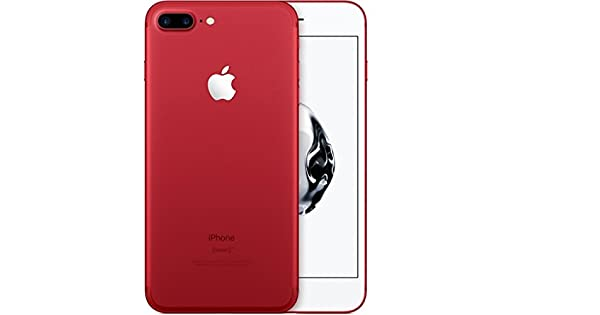 Apple iPhone 7 Plus with FaceTime - 128GB, 4G LTE- Red: Amazon com