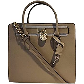 amazon com michael michael kors hamilton north south tote dark rh amazon com