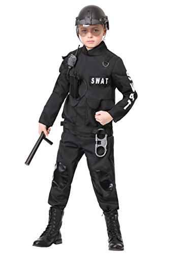 Kids SWAT Commander Costume Medium -