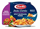 Barilla Italian Entrees Penne, Spicy Marinara, 9 Oz. Microwaveable Bowls (Pack of 6)