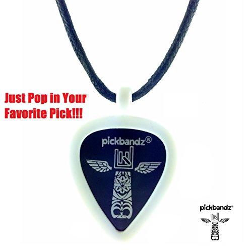 Pickbandz Pick-Holding Pendant/Necklace Ghost White]()