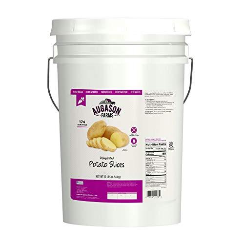 Augason Farms® Dehydrated Potato Slices - 10 Lb. Pail