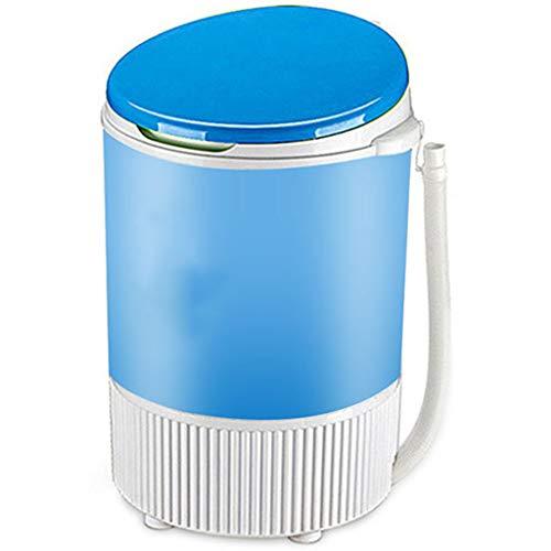 Portable Washing Machine Mini Compact Washer Machine Household Elution Washing Machine 345350510 MM (Blue, Pink)