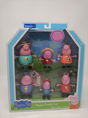 Peppa Pig Peppa S Family Fair Includes 6 Pieces