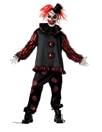 Carver The Clown Costume (Morris Costumes Carver The Killer Clown)