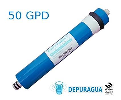 OFERTA Membrana + 4 filtros osmosis inversa compatible HIDROSALUD HIDROBOX: Amazon.es: Amazon.es