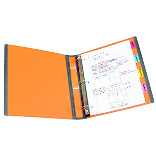 best staples better 1 inch d 3 ring view binder orange 13465 cc