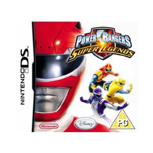 - POWER RANGERS SUPER LEGENDS (NINTENDO DS)