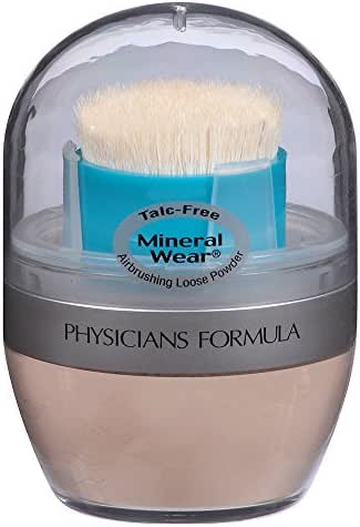 Physicians Formula Mineral Wear Loose Powder, Creamy Natural, 0.35 Ounce