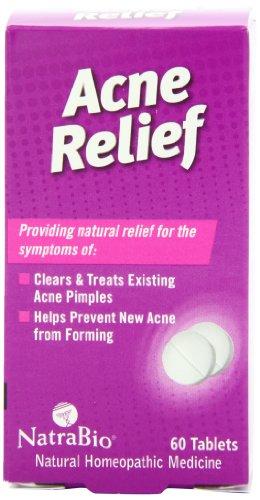Natrabio Acne Relief Tablets, 60 Count