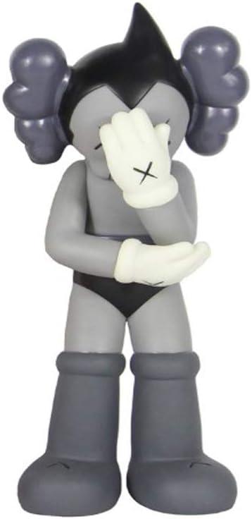 16 /« LZH KAWS Astro Boy Toy Rescue Tendance Mod/èle Enfants Collection Cadeau 37cm Grey
