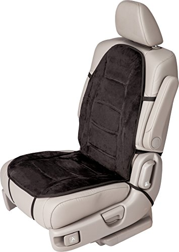41irJYxQLDL Relaxzen Deluxe Heated Car Seat Cushion with Built-In Thermostat and Auto Shut-Off, Black