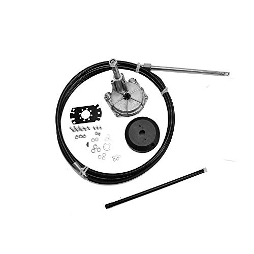 Quick Connect Rotary Steering System with Stainless Steering Wheel (12 feet)
