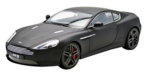 Welly Welly聽-聽18045mbk聽-聽Aston Martin DB9聽Coupe 2013聽-聽Scale 1/18聽Matt Black