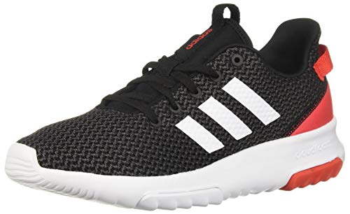 adidas Men's CF Racer TR Running Shoe, Black/White/hi-res red, 11 M ()