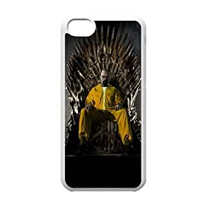 iPhone 5c Cell Phone Case White Breaking Bad Throne S5J8UU