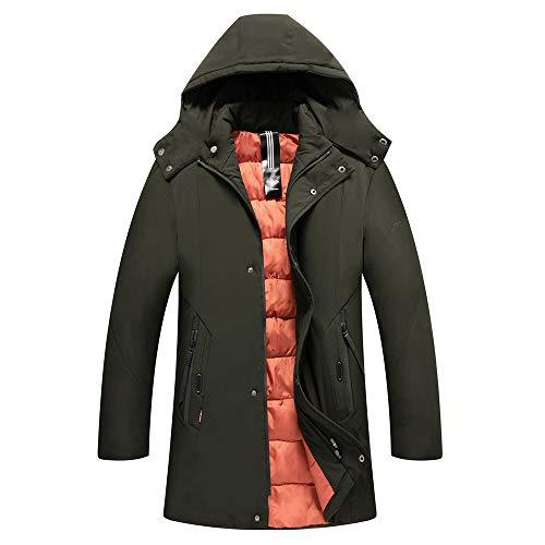 Casual Fit Chaud En Long Hiver Homme Coat Veste Slim Trench Manteau WUS0YHYx6q