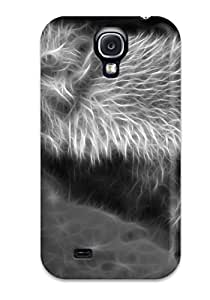 7932647K69664303 Hot Style Protective Case Cover For Galaxys4(wolf)