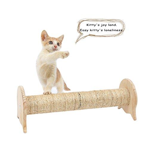 SWEET DEVIL Postes Rascadores para Gatos Juguete de Gatos con Columna de Sisal Natural,Pequeña: Amazon.es: Productos para mascotas