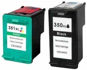 Printenviro - Cartuchos de tinta recondicionados HP 350 XL y 351 ...