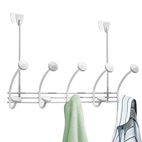mDesign Over Door 10 Hook Towels