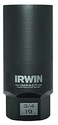 Bolt-Grip 1900540 Irwin Tools Impact Performance Series Bolt Grip Deep Well Bolt Extractor, 3/4-Inch, 3/8-Inch Square - Stud Bolt Length