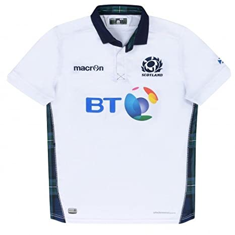 2015 - 2016 Escocia suplente Poly - réplica de camiseta de Rugby ...