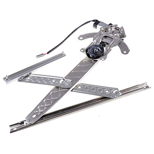 LUJUNTEC 741-849 Front Right Passengers Side Replacement Power Window Regulator with Motor fit for 2004 Ford F-150 Heritage 1999-2003 Ford F-150 1999 Ford F-250 -