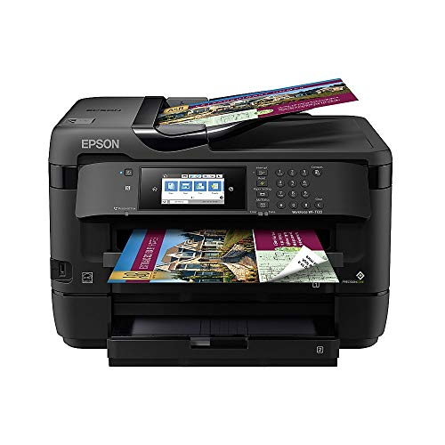 Epson WorkForce WF-7720 Wireless Wide-format Color Inkjet Printer with Copy