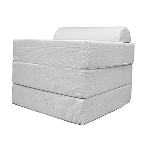 Pouf Letto Pieghevole.Arketicom Sleeping Cube Pouf Letto Design Pieghevole Sfoderabile