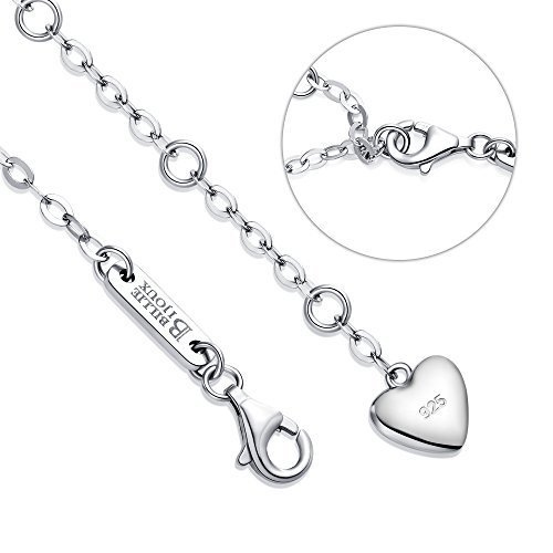 Billie Bijoux Womens 925 Sterling Silver Infinity Endless Love Symbol Charm Adjustable Anklet Bracelet, large bracelet, Gift for Christmas Day, Gift for Valentine's Day