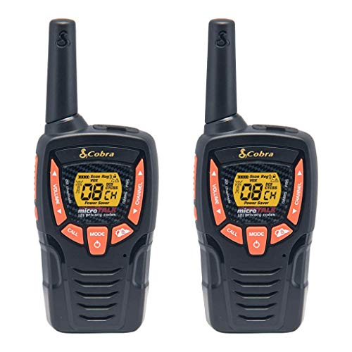 Cobra ACXT390 Walkie Talkies 23-Mile Two-Way Radios (Pair)