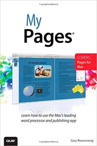 Amazon com: My Pages (for Mac) (9780789750075): Gary Rosenzweig: Books