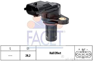SENSOR 9.0387 Compatible with CHRYSLER 68102591AA// K68102591AA Compatible with MERCEDES-BENZ A0041536028// A2729050143// A2729050043// 0041539628 FACET REVOLUTION AND TIMING CKP AND CMP