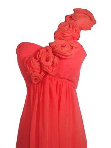 Y Damen Fashion Kleid Pfirsich Alivila EwdAXE