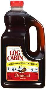 Log Cabin Syrup, Original, 64 Ounce