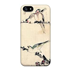 First-class Case Cover For Iphone 5/5s Dual Protection Cover Asian Art15