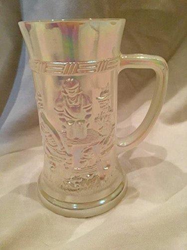 Vintage Federal Iridescent White Milk Glass Opalescent Vintage Mug (Federal Milk Glass)