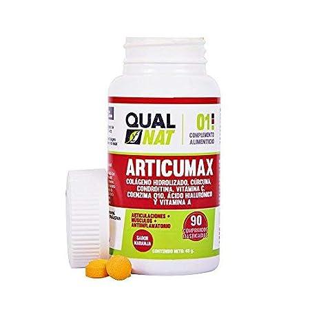 Colágeno con extracto de cúrcuma para ayudar a nuestros huesos y articulaciones - Comprimidos con vitamina C, condroitina y ácido hialurónico - 90 ...