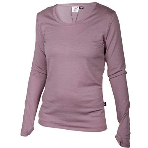 (Merino 365 Women's OG Long Sleeve Small, Chateau Pink)