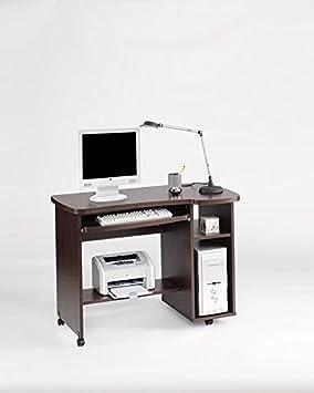 Mesa de Ordenador Salamanca 9401 wengue: Amazon.es: Hogar