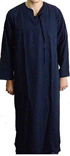 Dark-Blue-Men-Saudi-Style-Thobe-Thoub-Abaya-Daffah-Dishdasha-Islamic-Arabian-Kaftan-123