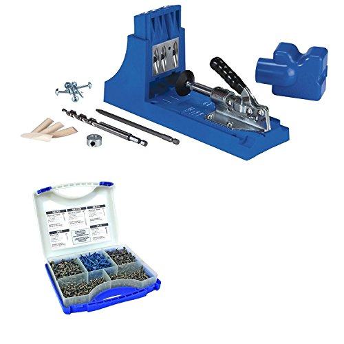 Kreg K4 Pocket Hole System and Screw Kit In 5 Sizes (System Pocket Hole)