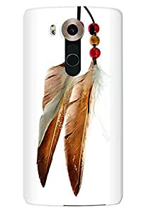 Stylizedd LG V10 Premium Slim Snap case cover Matte Finish - Chief Longfeathers