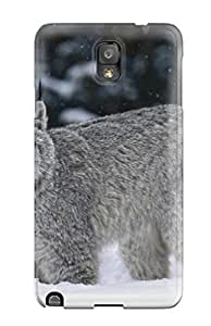Excellent Design Lynx Phone Case For Galaxy Note 3 Premium Tpu Case