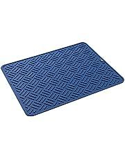 Afwasbare antislip placemats, afdruipmat van silicone, afdruipmat, grote afdruipmat, waterdichte siliconen pad, antislip mat, spoelbakmat voor keuken