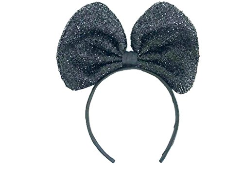 Sparking Bow Headband: H17 (Black) -