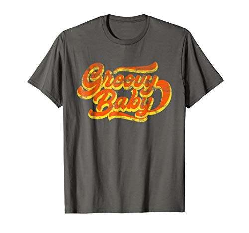 Seventies Vintage Groovy Baby 70s T Shirt -