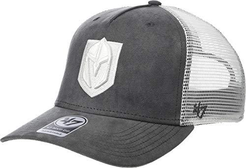 '47 Unisex Vegas Golden Knights Ultrabasic Mesh Snap MVP DV Charcoal One Size